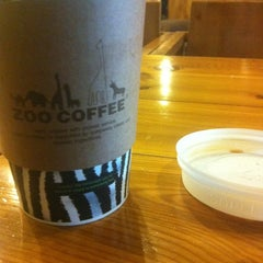 Photo taken at ZOO COFFEE by GB M. on 2/15/2012