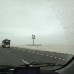 Photo taken at Metaphor: The Tree Of Utah by Doug H. on 3/17/2012