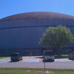 Photo taken at Burton Coliseum by Michelle H. on 3/24/2012