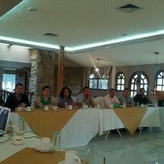 Photo taken at Luminarias Restaurant by Mario Eduardo D. on 4/28/2012