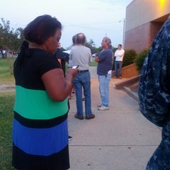Photo taken at Naval Station Norfolk Pass and I.D. Office by Hans K. on 6/25/2012