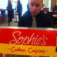 Photo taken at Sophie's Cuban Cuisine by Marc L. on 2/27/2012