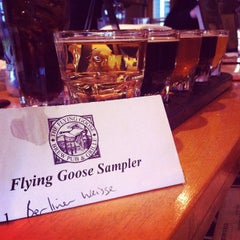 Photo taken at Flying Goose Brew Pub & Grille by Brian E. on 5/5/2012