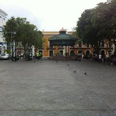 Photo taken at Plaza De Armas by Scott B. on 4/22/2012
