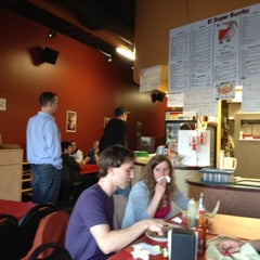 Photo taken at El Super Burrito by rd on 5/5/2012