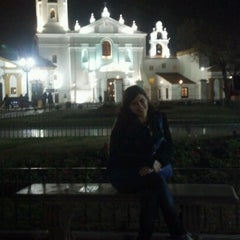 Photo taken at Plaza Francia by Maria l. on 8/10/2012