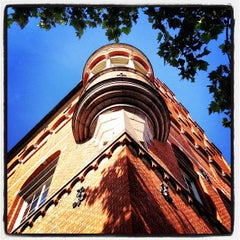 Photo taken at Malmö Stadsbibliotek by Sean D. on 8/14/2012
