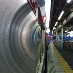 Photo taken at 千住大橋駅 (Senjuōhashi Sta.) (KS05) by heiwa4126 on 5/6/2012