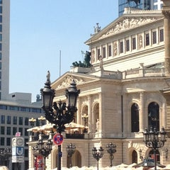 Photo taken at Alte Oper by Julia on 7/25/2012
