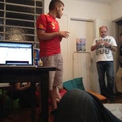 Photo taken at Garoa Hacker Clube by Gustavo L. on 6/30/2012