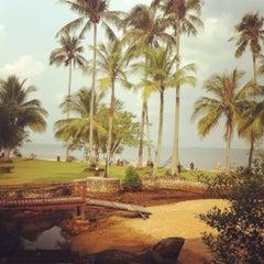 Photo taken at หาดใบลาน (Bailan Beach) by Priscilla T. on 3/12/2012