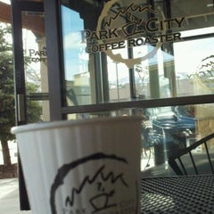 Photo taken at Park City Coffee Roaster by Josh B. on 3/25/2012