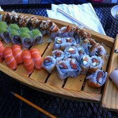 Photo taken at Wasabi Sushi Bar by Erin R. on 6/5/2012
