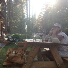 Photo taken at Blue Angel Cafe & Catering Co. by Elizabeth R. on 9/4/2012