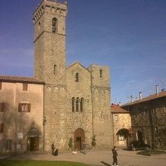 Photo taken at abbazia san salvatore by Francesco G. on 4/25/2012