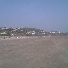 Photo taken at Inchydoney Beach by Deana H. on 3/25/2012