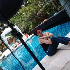 Photo taken at Four Seasons Hotel Jakarta by dean k. on 3/16/2012