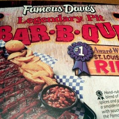Photo taken at Famous Dave's by Ted Y. on 6/3/2012