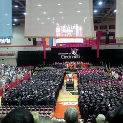 Photo taken at Fifth Third Arena by Olivia M. on 6/8/2012
