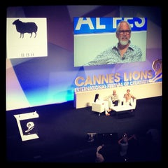 Photo taken at Cannes Lions 2012 by Vlad S. on 6/23/2012