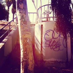 Photo taken at Ave. 58 Staircase by Torrey N. on 8/1/2012