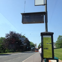 Photo taken at East Drive Bus Stop by Anna S. on 5/28/2012