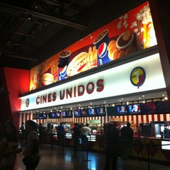 Photo taken at Cines Unidos by Carlos L. on 4/16/2012