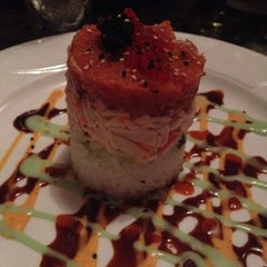Photo taken at Sushi Axiom by Madeline G. on 5/13/2012