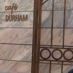 Photo taken at Café Durham by Patty Q. on 2/18/2012
