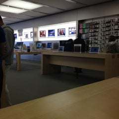 Photo taken at Apple Store, The Promenade Shops at Briargate by Michael O. on 4/3/2012