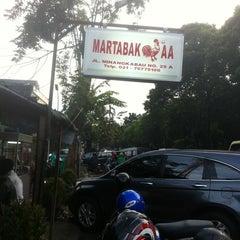 Photo taken at Martabak AA by Rinobi on 3/20/2012