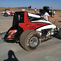 Photo taken at Southern NM Speedway by Bruce S. on 6/9/2012