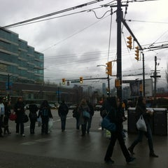 Photo taken at Broadway - City Hall SkyTrain Station by Tuezy E. on 3/13/2012