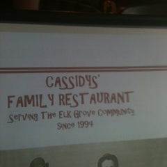 Photo taken at Cassidy's Family Restaurant by John B. on 3/16/2012