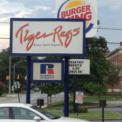 Photo taken at Tiger Rags by Lance H. on 7/17/2012