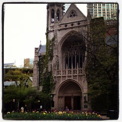 Photo taken at Fourth Presbyterian Church by Andy J. on 4/28/2012