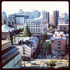 Photo taken at Wyndham Baltimore Peabody Court by Alex F. on 5/10/2012