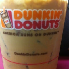 Photo taken at Dunkin' Donuts by Clinton S. on 3/12/2012