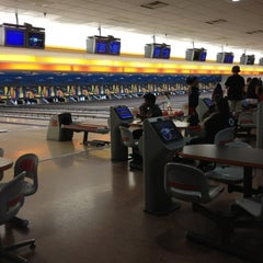 Photo taken at Buffaloe Lanes Cary Bowling Center by Therese J. on 7/10/2012