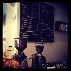 Photo taken at Gimme! Coffee by Jordan G. on 5/23/2012