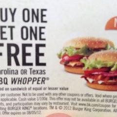 Photo taken at Burger King® by Mark on 7/18/2012