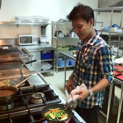 Photo taken at Tachawan Resort & Restaurant by Tachapon K. on 3/27/2012