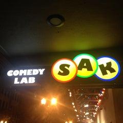 Photo taken at SAK Comedy Lab by Leon O. on 6/15/2012