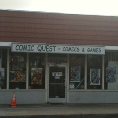 Photo taken at Comic Quest by Mitch D. on 3/6/2012