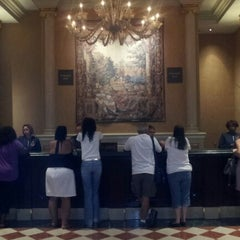 Photo taken at Venetian Concierge by Rogerio P. on 7/27/2012