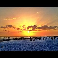 Photo taken at Siesta Key Beach by Michael F. on 8/25/2012