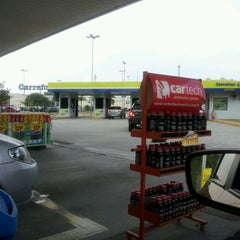 Photo taken at Posto Carrefour (Shell) by Joaquim G. on 4/3/2012