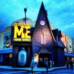 Photo taken at Despicable Me: Minion Mayhem by Cathy S. on 5/14/2012