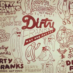 Photo taken at Dirty Frank's Hot Dog Palace by Craig W. on 8/4/2012
