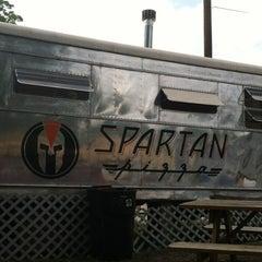 Photo taken at Spartan Pizza by Jason L. on 4/12/2012